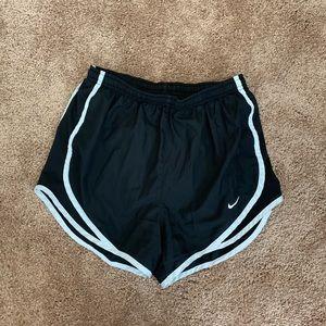 Nike Dri-Fit Shorts - black and white